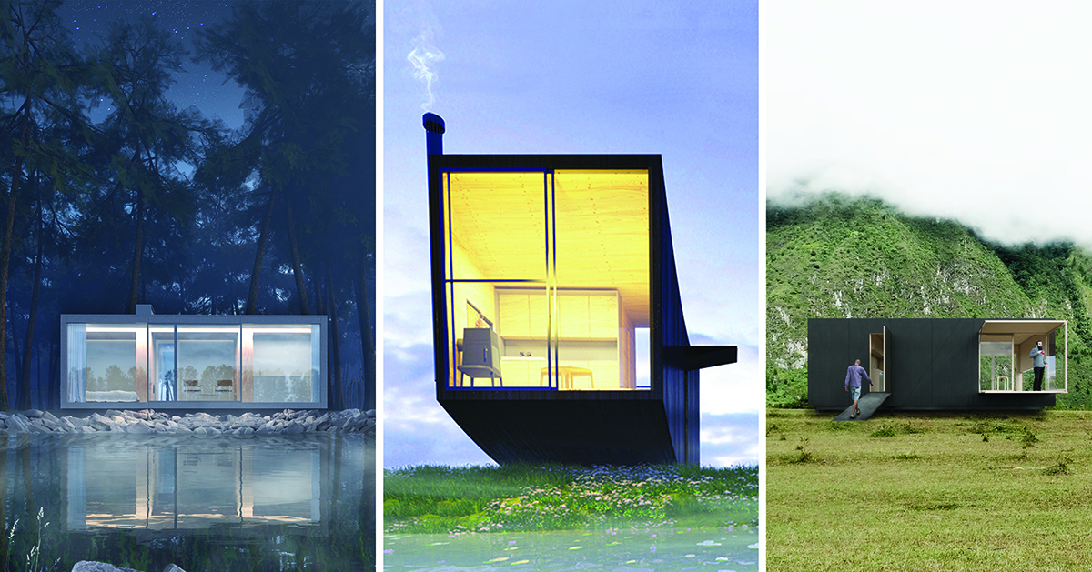 4 Tiny Houses Selected As Winners In The Ryterna Modul