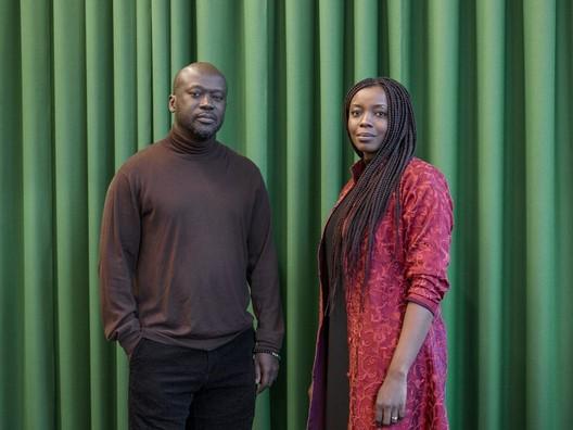 Sir David Adjaye with his protégée Mariam Kamara. Image Courtesy of Rolex Arts Initiative