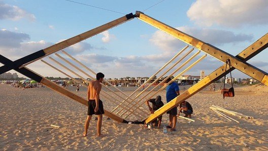 06 Lightweight Wooden Deployable Structure Aims for Large Social Impact Without Leaving a Mark Architecture