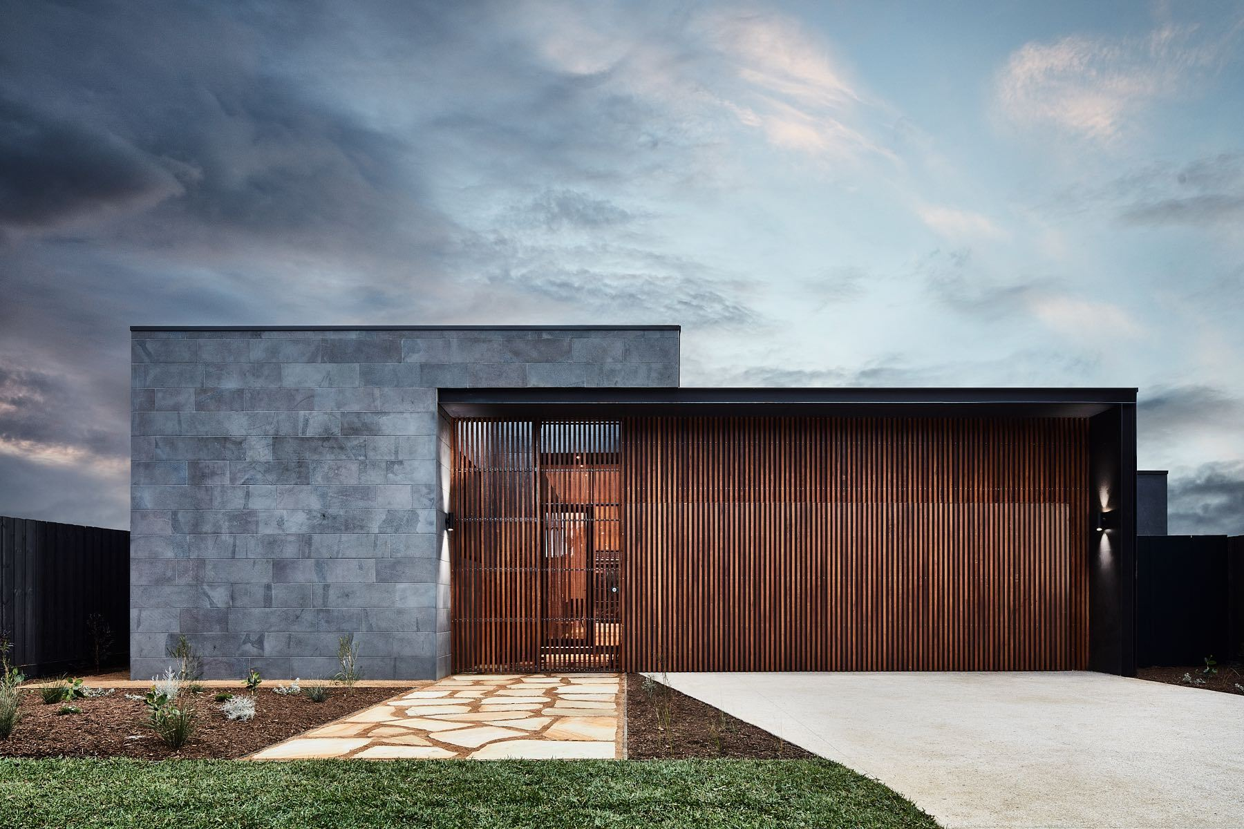 Courtyard House Auhaus Architecture Archdaily