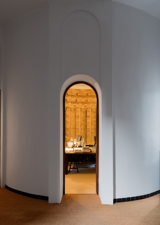 3N0A5931-Pano-2 See Ricardo Bofill's Converted Cement Factory Studio Through The Lens Of Marc Goodwin Architecture
