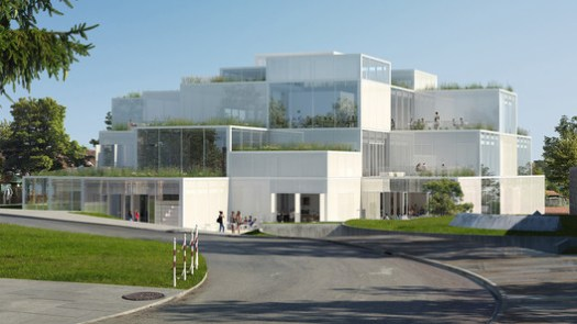© Sou Fujimoto Architects. Courtesy University of St. Gallen