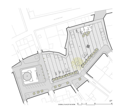 Plazas de Puigcerdà Plan / Pepe Gascón. Image via Pepe Gascón