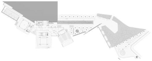 España Library Park Plan / Giancarlo Mazzanti. Image via Giancarlo Mazzanti