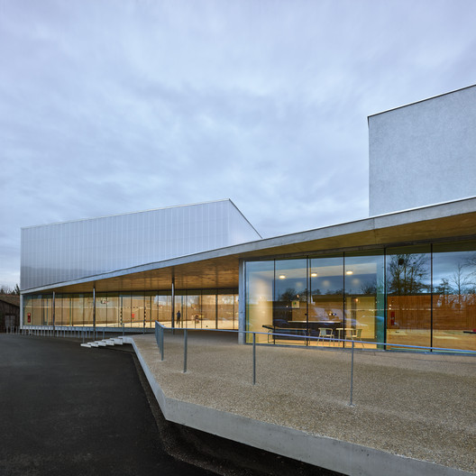 05_ROBERTSAU_%C2%A9Eugeni_Pons 'Human Rights' Sports Center in Strasbourg / Dominique Coulon & associés Architecture