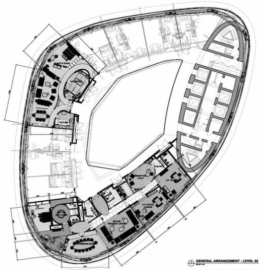 Presidential Suites Floor Plan