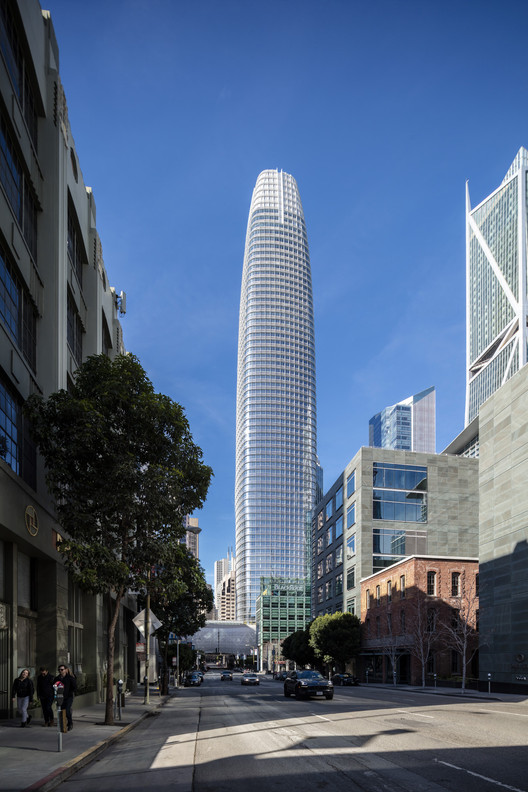 Salesforce Tower  Pelli Clarke Pelli Architects  ArchDaily