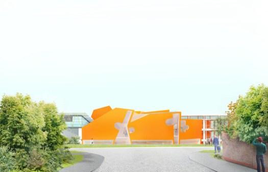 Exterior View. Image Courtesy of CRAB Studio