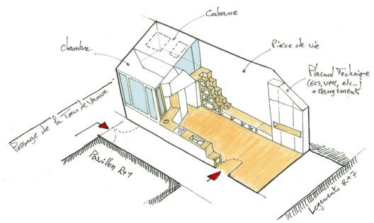 isometrie Atelier_142 / Atelier Wilda Architecture