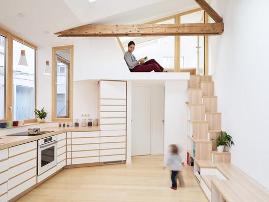 Wilda___Appart_Paris_XIV016__Copyright_David_Foessel Atelier_142 / Atelier Wilda Architecture