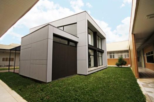 Núcleo Senai de Sustentabilidade / Arqbox (Construção em Wood Frame). Image Cortesia de Arqbox