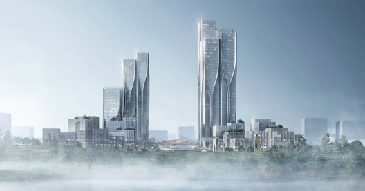 Vanke_Tianfu_Cloud_City_Feature_Image Aedas' Latest Mixed-Use Development Creates a City Inspired by 'The Cloud' Architecture