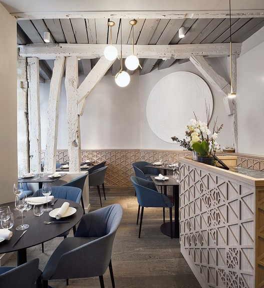 12_Restaurant_Yoshinori_-_Rez_de_chausse%CC%81e_(1) Restaurant Yoshinori / Alia Bengana architecte dplg + Atelier BEPG SASU d'Architecture Architecture