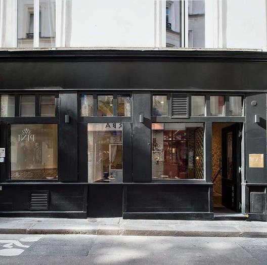 12_Restaurant_Yoshinori_-_Rez_de_chausse%CC%81e_(0) Restaurant Yoshinori / Alia Bengana architecte dplg + Atelier BEPG SASU d'Architecture Architecture