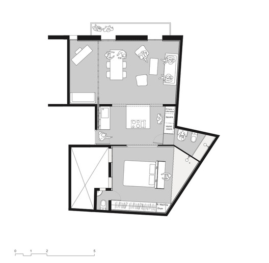 Copia_de_plan Smart Configurations for Small Kitchens Architecture