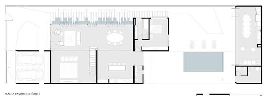 PLANTA_01 Granada House / Estúdio HAA! Architecture