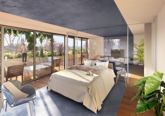 09_-_ARBORICOLE_-_VIEW_OF_A_FLEXIBLE_STUDIO Vincent Callebaut Architectures Wins Public Vote for Millennial Vertical Forest Competition Architecture
