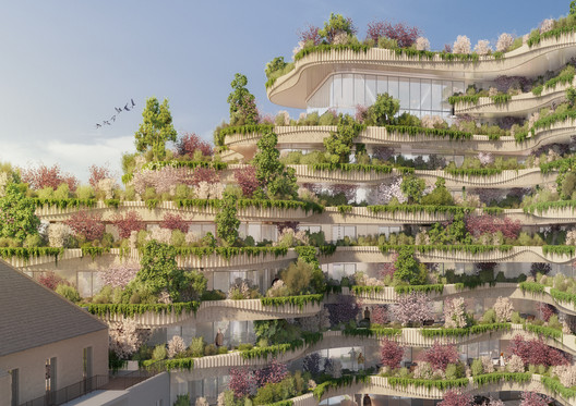 24_-_ARBORICOLE_-_FOOD_GARDEN_AND_ORCHARDS_BALCOINIES Vincent Callebaut Architectures Wins Public Vote for Millennial Vertical Forest Competition Architecture