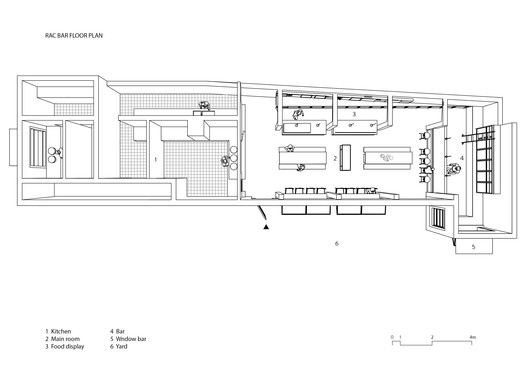 RAC Bar Floor Plan