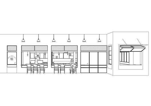 creperie_facade_logo RAC Coffee & Bar / MASS DESIGN Architecture