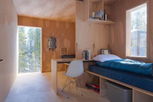<a href='https://www.archdaily.com/785103/colorado-outward-bound-micro-cabins-university-of-colorado-denver'>Colorado Outward Bound Micro Cabins / University of Colorado Denver</a>. Image © Jesse Kuroiwa