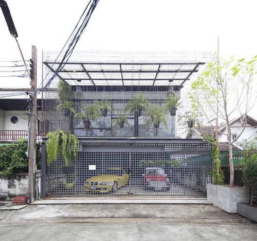 exterior1 Residence 54 / SPC Technocons Architecture