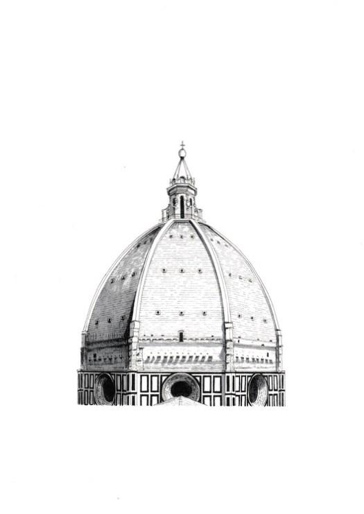Cupola di Santa Maria del Fiore. Courtesy of Lorenzo Concas