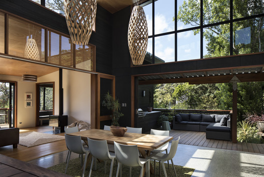 Whare_Koa___Atrium___1_of_10 Whare Koa House / Strachan Group Architects Architecture