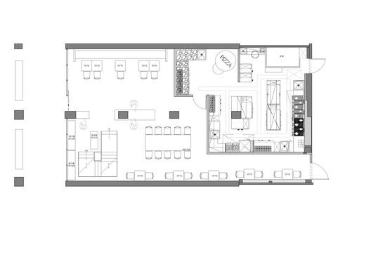PLAN-1 Bite to Eat / HAO Design Architecture