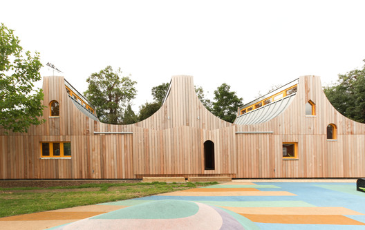 Belvue_School_Woodla_2300_Studio__Weave_PRESSIMAGE_3 93-Building Shortlist Announced for 2018 RIBA London Awards Architecture