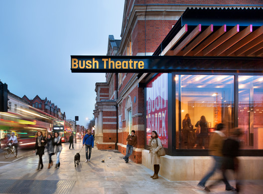 Bush_Theatre_2490_Philip_Vile_PRESSIMAGE_3 93-Building Shortlist Announced for 2018 RIBA London Awards Architecture