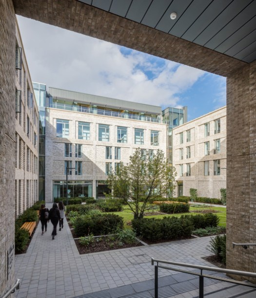 Elm Grove Hall, Student residence and conference centre / MJP Architects. Image © Simon Kennedy