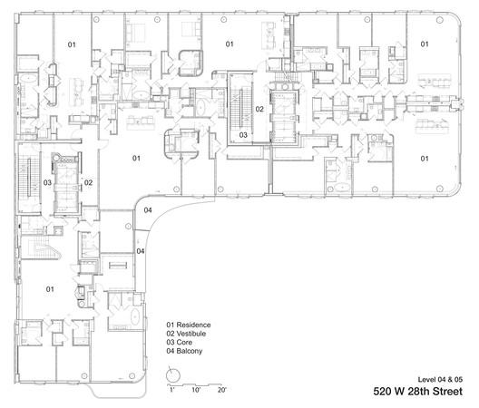 520W28th_Level_04_05 520 West 28th / Zaha Hadid Architects Architecture