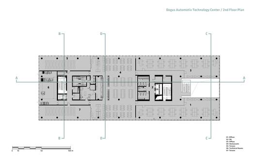 06-2nd_FLOOR Dogus Technology Center / ERA Architects Architecture