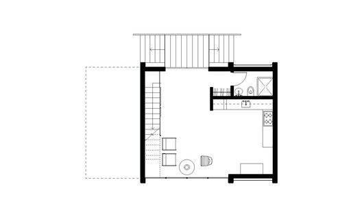 Scavenger_Studio_plan_level_1_0001 Scavenger Studio / Eerkes Architects + Olson Kundig Architecture