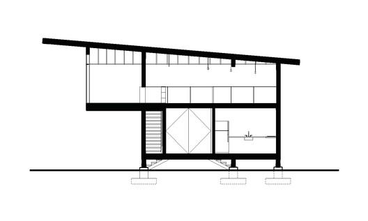 Scavenger_Studio_section_0001 Scavenger Studio / Eerkes Architects + Olson Kundig Architecture