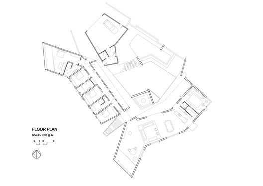 Floor_Plan_1_to_250-001 Dovecote / Atelier Andy Carson Architecture