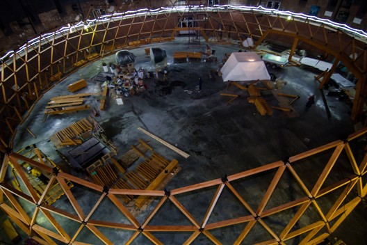 FLWFrMXfvjM This Wooden Geodesic Dome Contains the World's Largest Planetarium Architecture