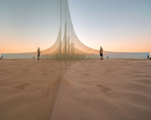 m-_09_-_The_Desert_Island_-_Gj%C3%B8de___Partnere_Arkitekter_-_(c)_Ross_Duggan On Cottesloe Beach, Gjøde & Partnere Arkitekter Create a Floating Desert Island for Sculpture By The Sea Architecture