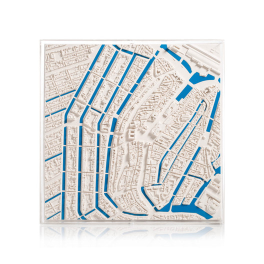 Amsterdam Map. Image via Chisel & Mouse