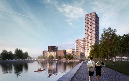 Key_West_Brussels_Henning_Larsen_05 Henning Larsen Brings Canals and Rooftop Farming to Brussels in Competition-Winning Masterplan Architecture