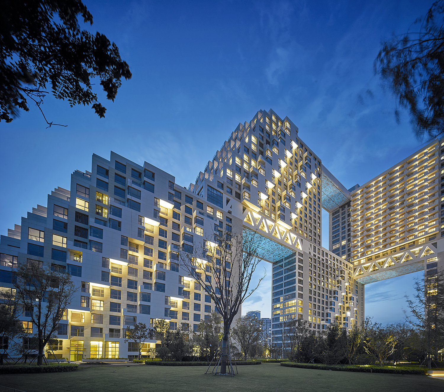 Habitat Qinghuangdao Safdie Architects Archdaily
