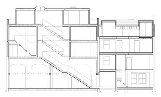 782_Jeddo_Long_Section_3600 Jeddo Road / Inglis Badrashi Loddo Architecture