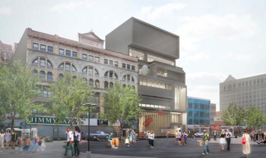 Studio Museum in Harlem by Adjaye Associates. Image © New York Times / Adjaye Associates