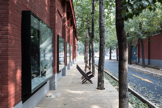 Exterior Resting Platform. Image Courtesy of TAO - Trace Architecture Office