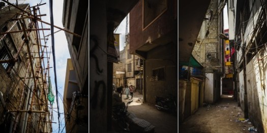 Informal Settlements of Karachi – Sparsely Open Spaces. Image © Sakina Hassan