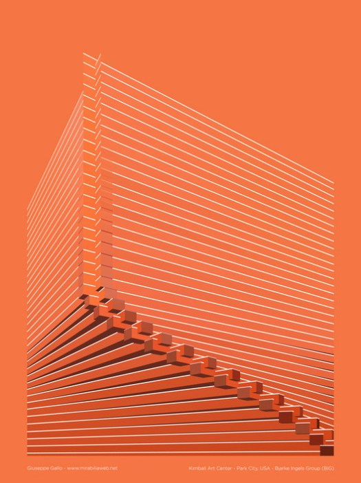 Kimball Art Center. Image Courtesy of Giuseppe Gallo via Mirabilia