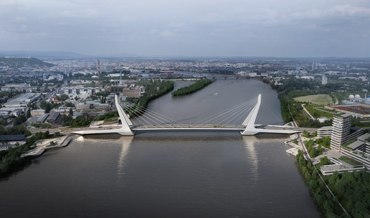02 UN Studio Triumphs in Competition for New Budapest Bridge Over the River Danube Architecture