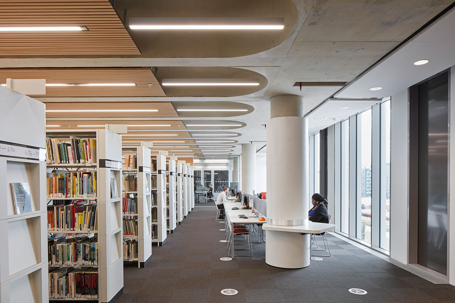 Gallery Of New Library At The University Of Bedfordshire