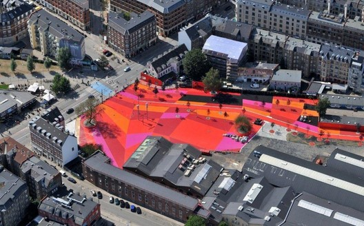 Superkilen_dragor_luft The Role of Color in Architecture: Visual Effects and Psychological Stimuli Architecture